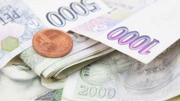 Peníze na dětský pokoj