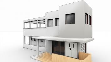 Prefabrikované domky - ilustrační foto