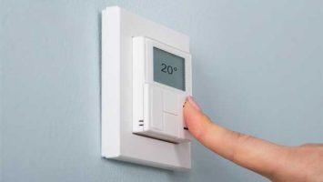 Nastavení teploty na termostatu